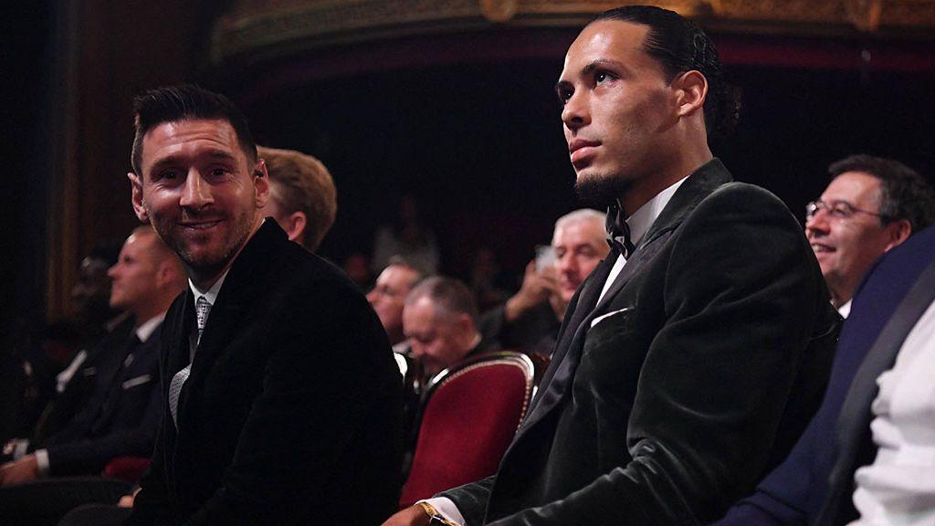 Messi solo saca siete puntos a van Dijk para conquistar su sexto Balón de Oro
