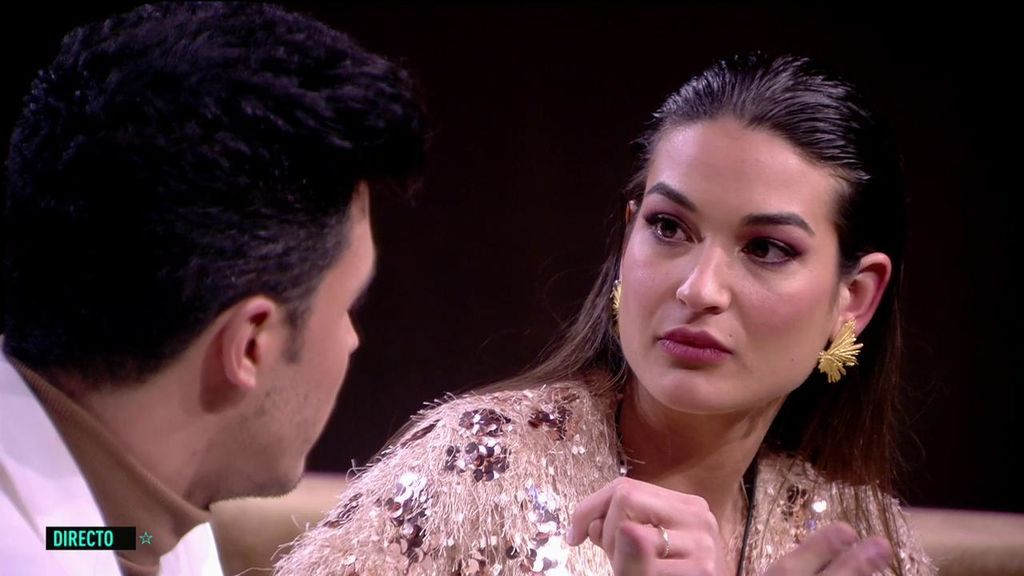 Estela reacciona las imágenes de su relación con Kiko