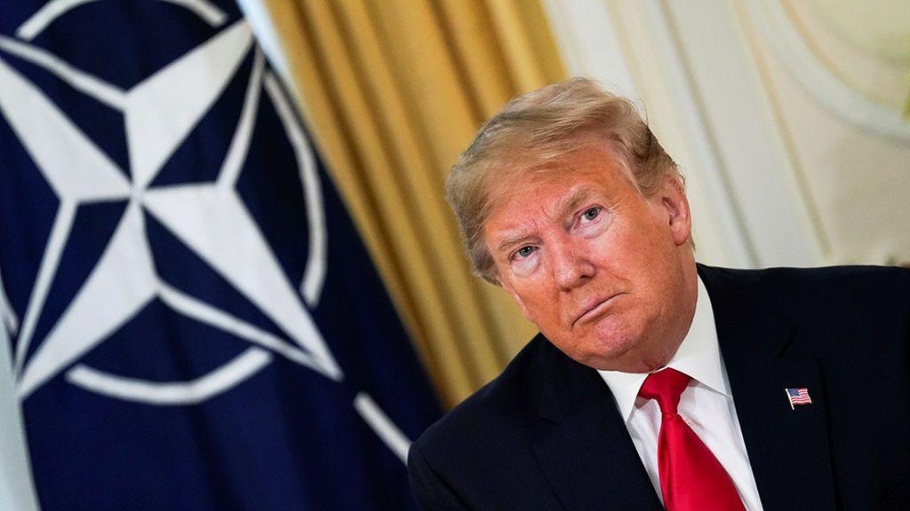 "Trump acusa a Macron de ""insultar"" a la OTAN"