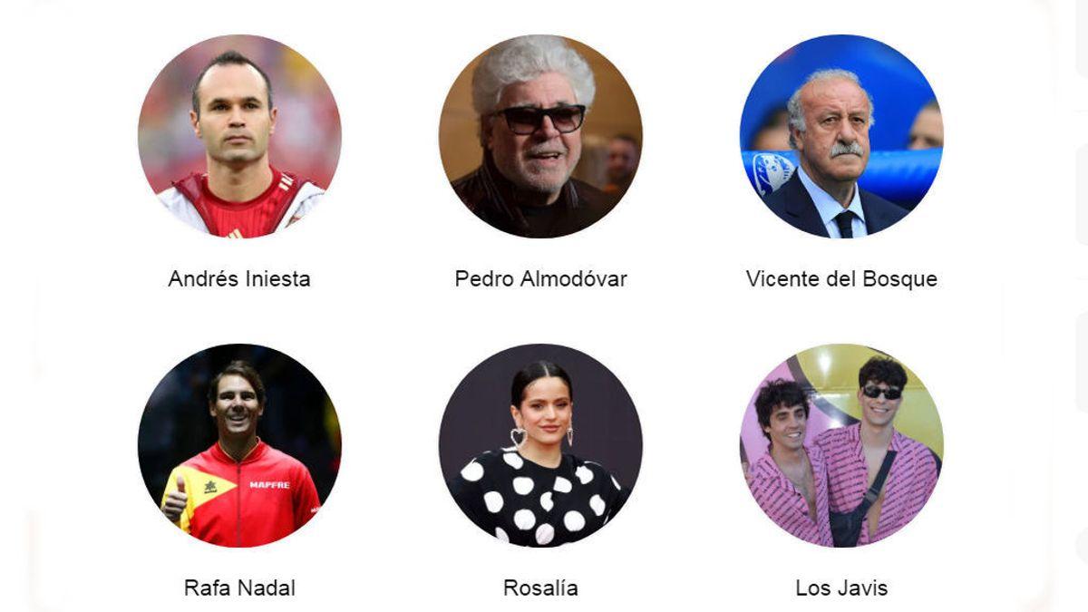 Encuesta: español ilustre en activo que merecería ser acuñado en una moneda