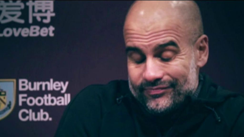 """Pep Guardiola: """"El título está perdido"""""""