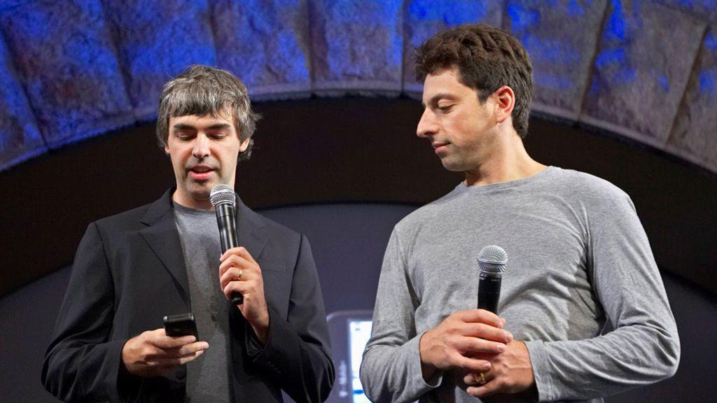 Los fundadores de Google se retiran y Sundar Pichai acapara todo el poder