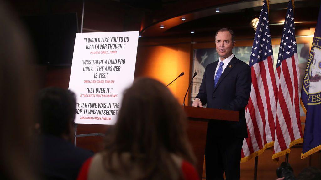 """El informe Demócrata para el impeachment acusa a Trump de """"abuso de poder"""""""