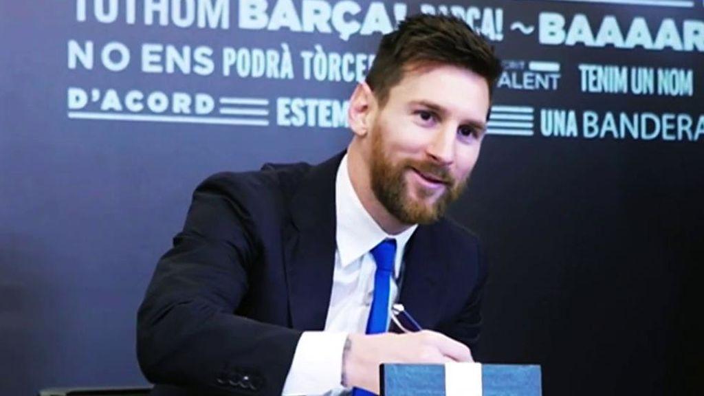 La novena renovación de Messi