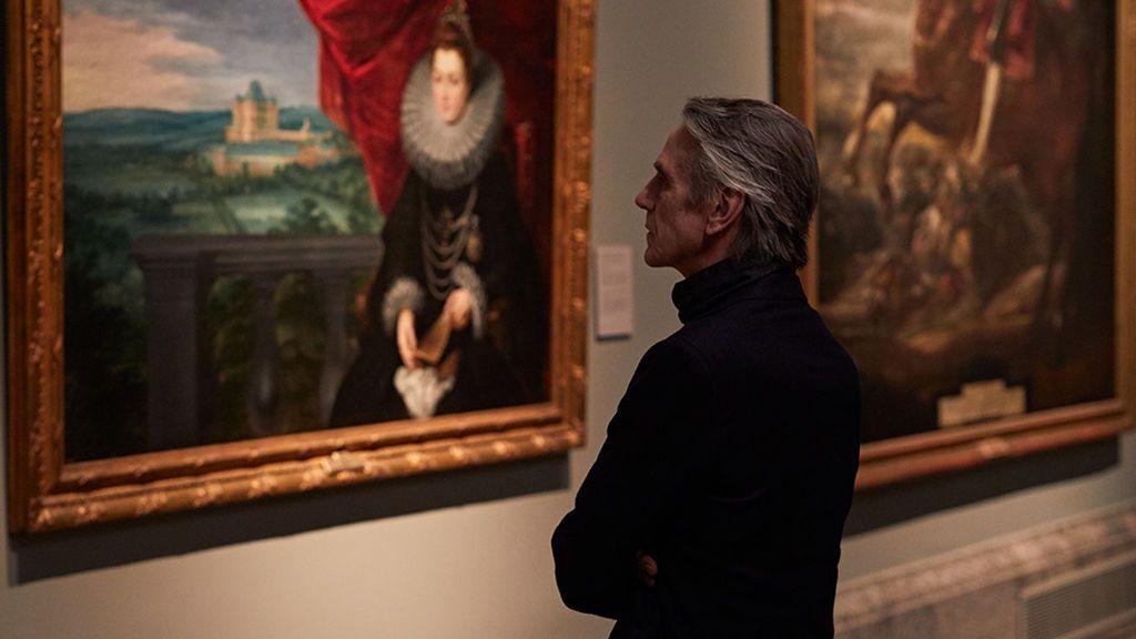 Jeremy Irons guía del Museo del Prado