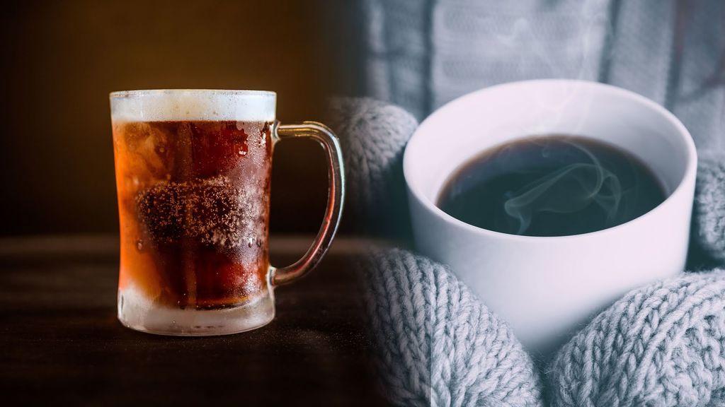 Helado para entrar en calor: las bebidas calientes no son buena idea para el frío