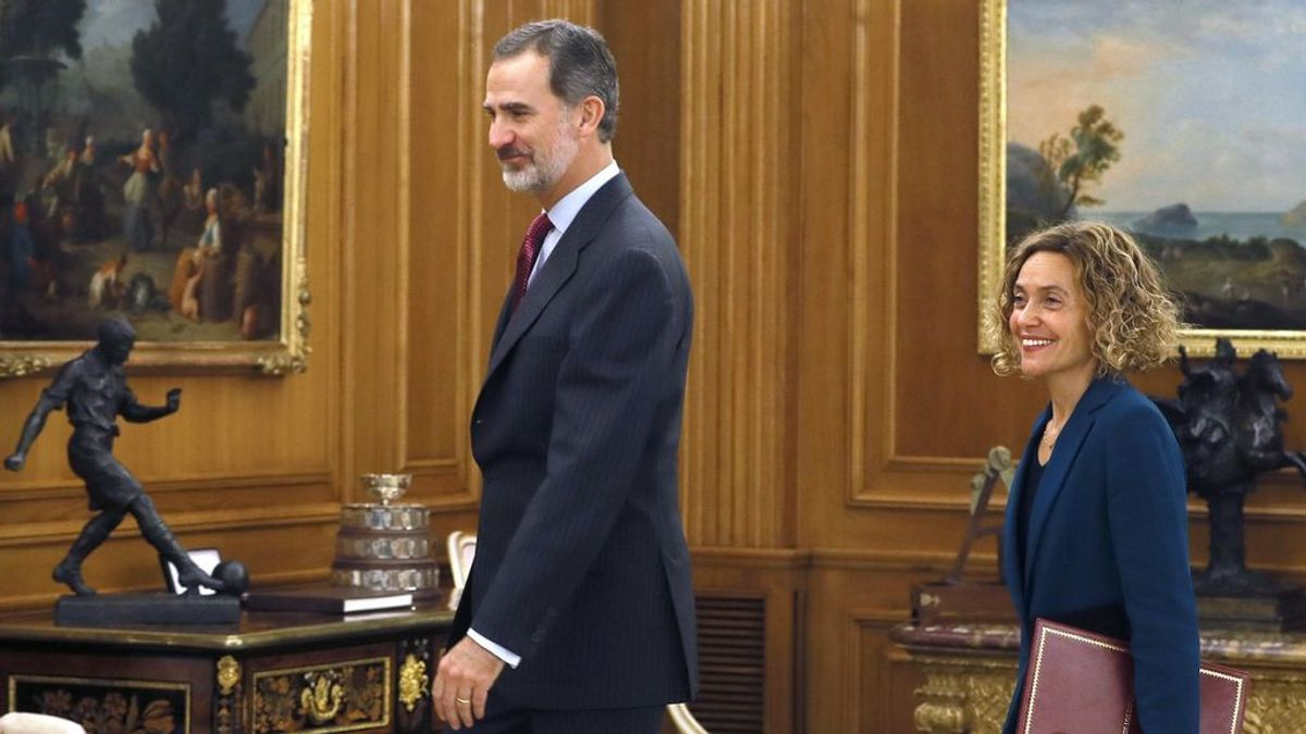 El Rey le pide a Batet un Gobierno cuanto antes