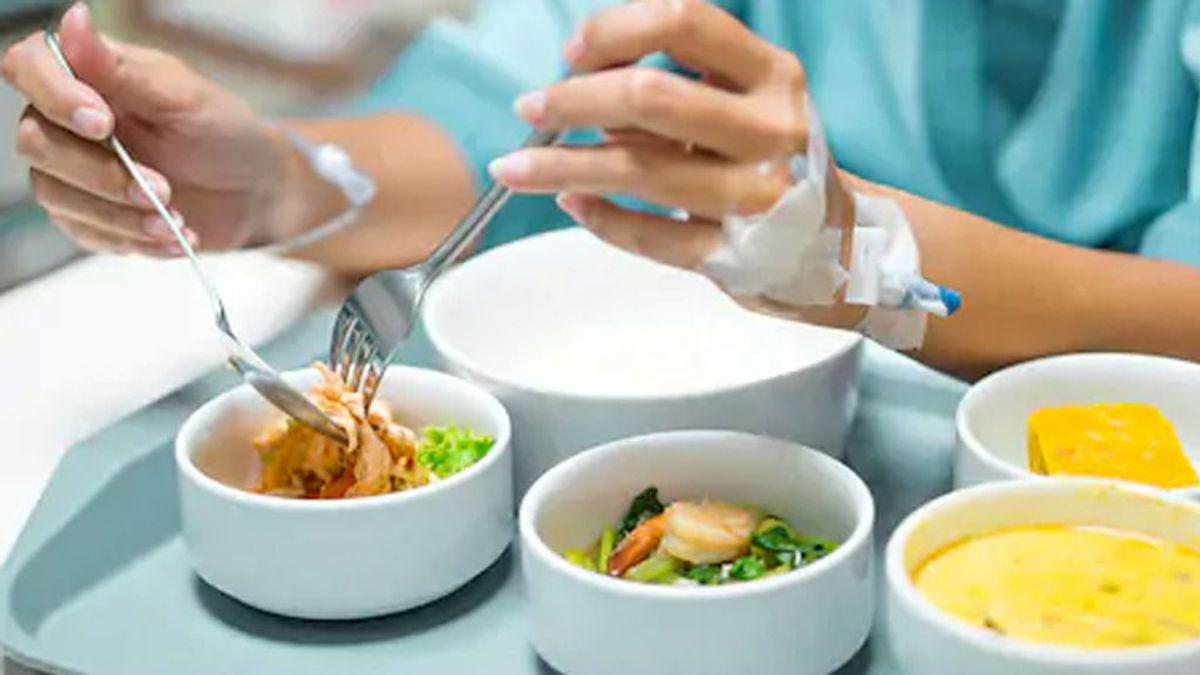 Los enfermos hospitalizados sufren entre un 20 y un 80%  desnutrición a causa de la alimentación  que reciben