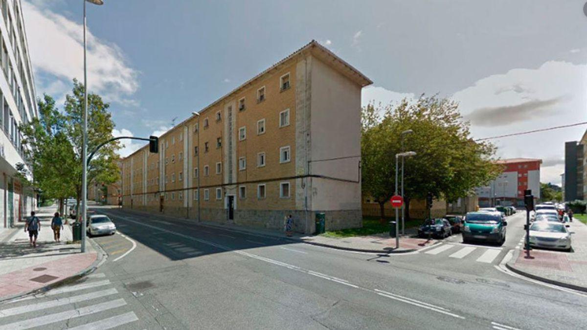 Detienen a un hombre, sospechoso de matar  a una mujer de 80 años a la que lanzó al suelo para robarle en Pamplona