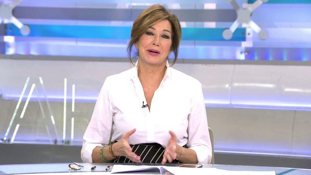"""Ana Rosa felicita a Malú y a Albert Rivera por el embarazo: """"Ya le pregunté a Albert si iba a ser papá"""""""
