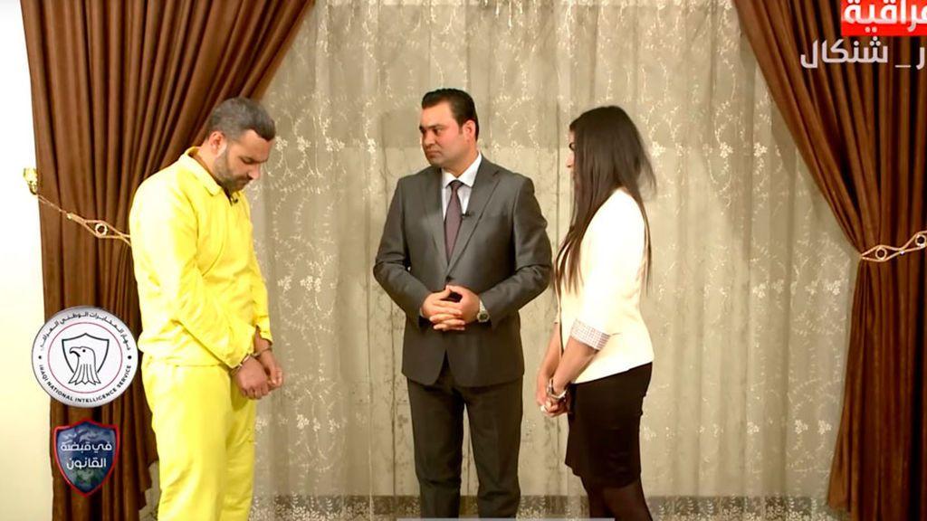 Una joven raptada por el Estado Islámico encara a su violador en la televisión iraquí