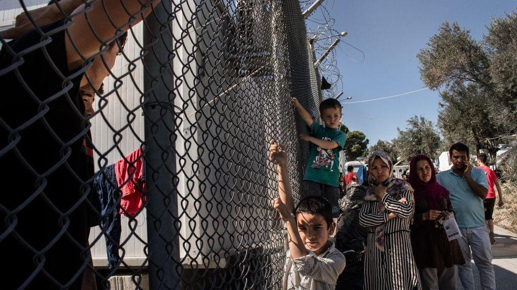 Atrapados en la prisión del Egeo: Moria el campo de refugiados de Lesbos