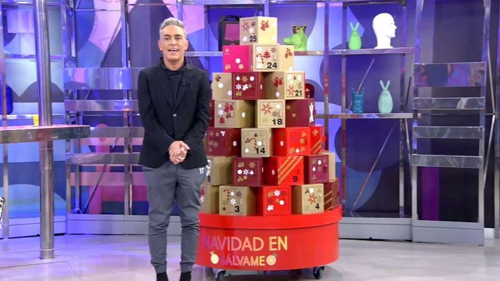 'El gordo de Navidad' está en Sálvame: estrenamos concurso navideño en el que repartimos 50.000€