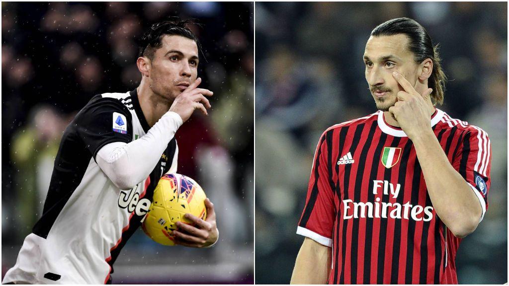 """Las 'perlas' de Ibrahimovic a Cristiano Ronaldo antes de ser rivales en Italia: """"No es natural"""""""