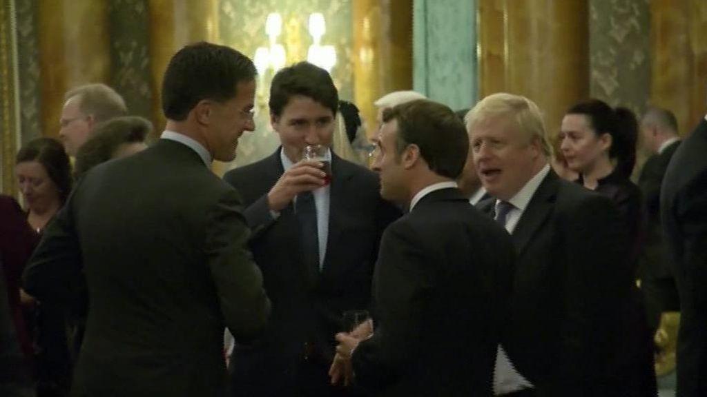 Trudeau, Johnson y Macron se burlan de Trump