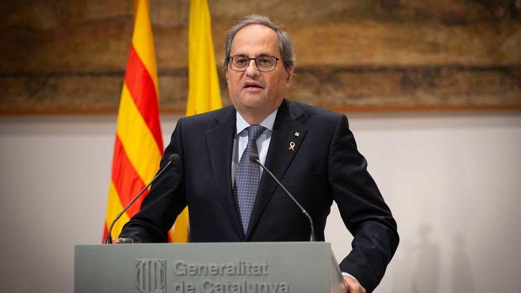 Torra rechaza la Constitución española y promete crear una catalana
