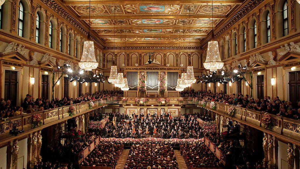 Concierto Año Nuevo en Viena