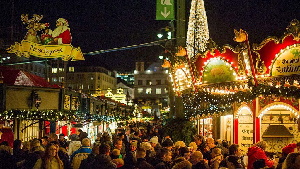 Mercado navideño Hamburgo