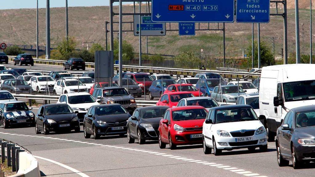 Operación salida:Tráfico se prepara para seis millones de desplazamientos en el  puente de diciembre