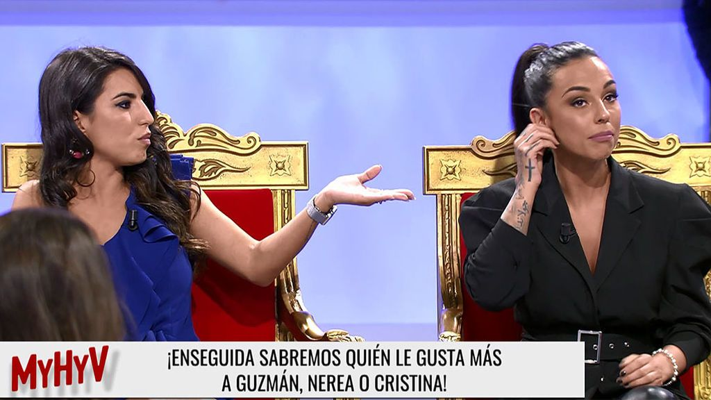 Tensión entre Cristina y Nerea