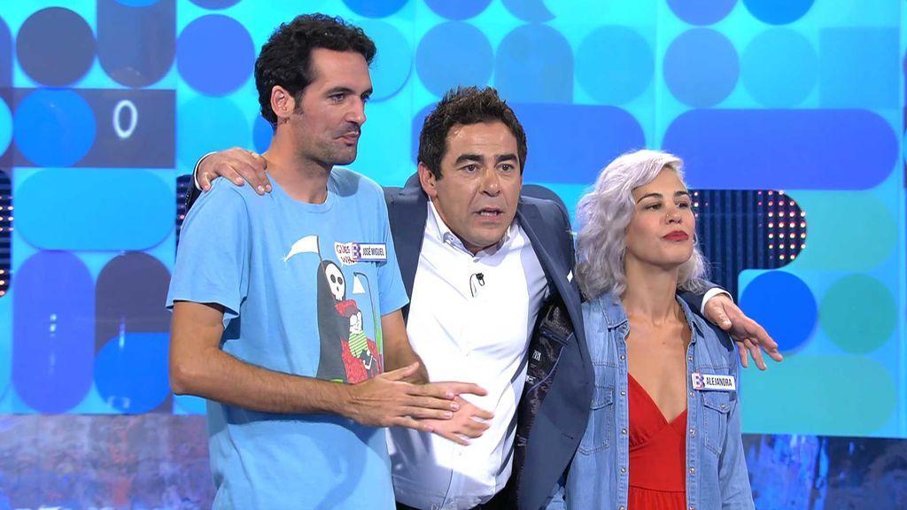 José Miguel y Alejandra aciertan plantándose con los 800 euros de 'El Bribón'