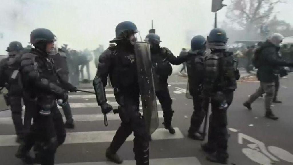 En directo: huelga general en Francia