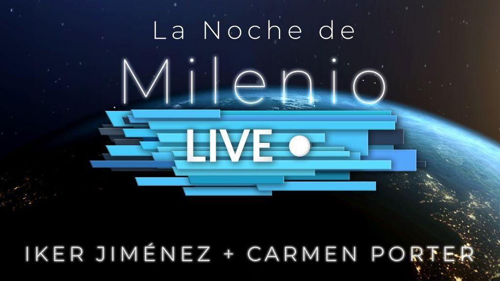 Iker Jiménez y Carmen Porter conducen 'La noche de Milenio Live', el primer evento en vivo de 'Milenio Live'