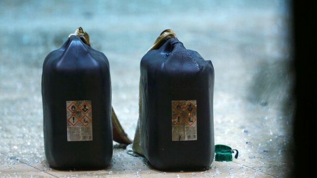Bidón gasolina