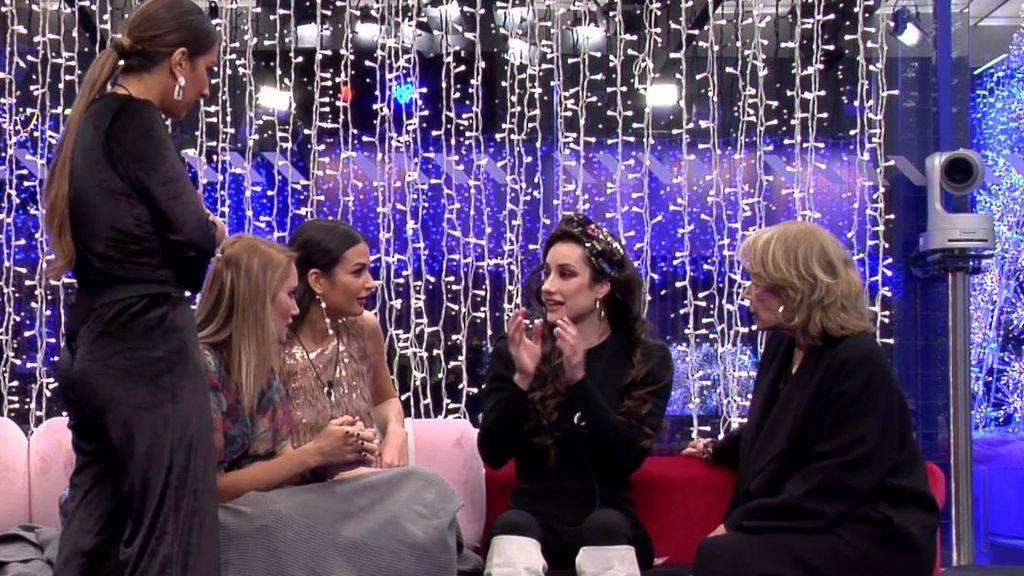 """Adara cuenta sus encuentros con Hugo y Gianmarco y las chicas alucinan: """"¡Estoy flipando!"""""""
