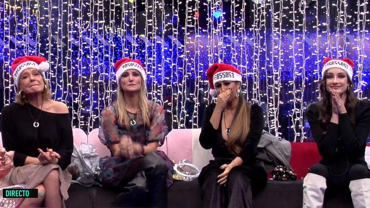 Adara, Mila, Noemí y Alba, finalistas de 'GH VIP 7'