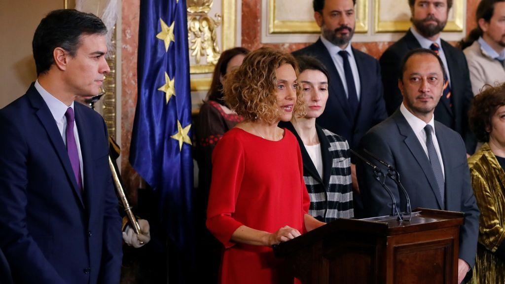 Día de la Constitución:  Sánchez reivindica el pacto entre diferentes y promete una legislatura sostenible