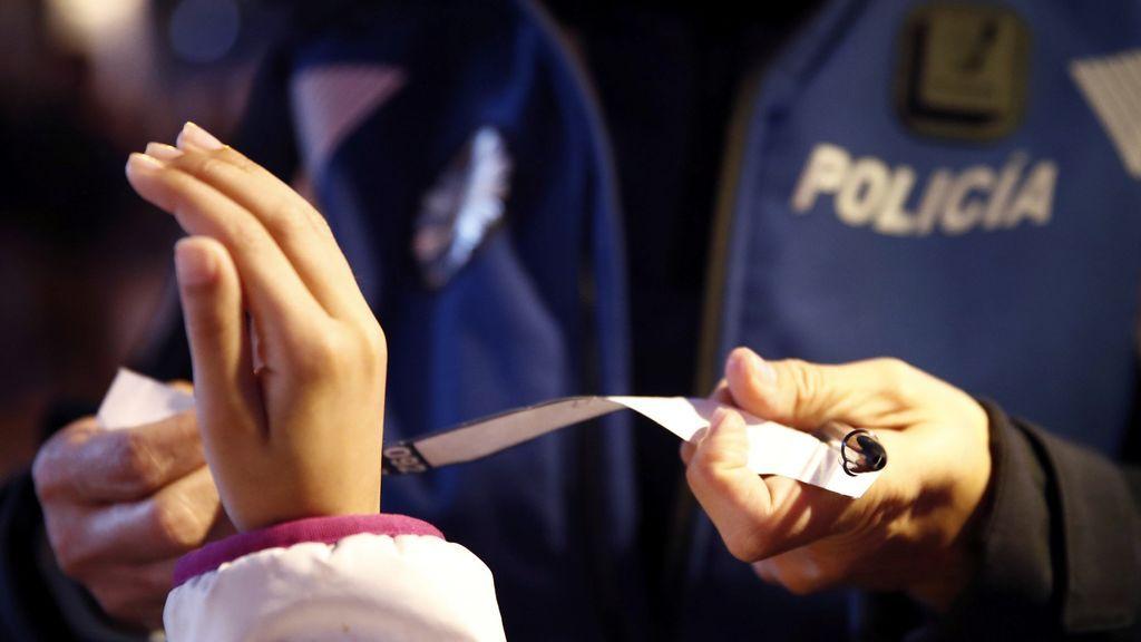 10.000 pulseras para evitar que los niños se pierdan en Madrid