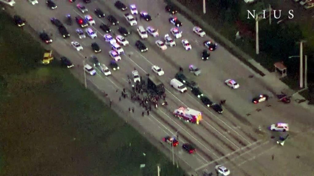 Persecución con cuatro muertos en Florida