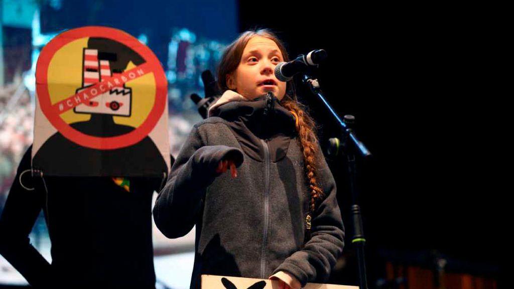 Greta Thunberg congrega a medio millón de personas en la Marcha por el Clima de Madrid