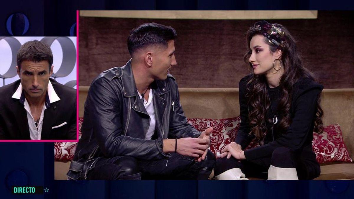 """Gianmarco se declara a Adara pero ella le pide tiempo: """" ¿Tengo que esperarte fuera o no?"""""""