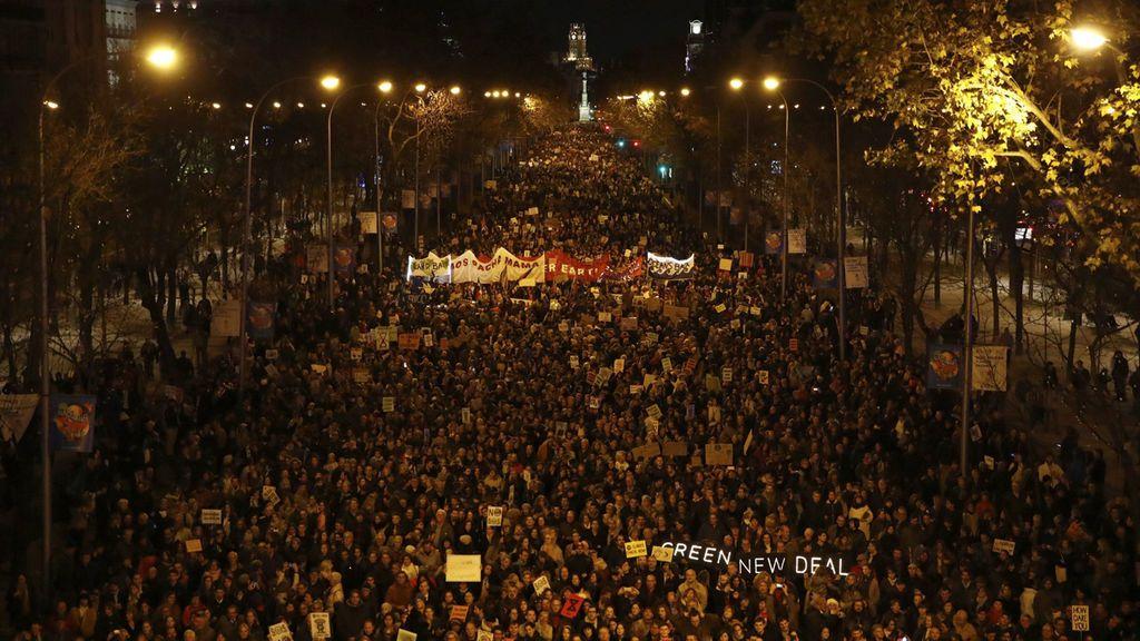 Madrid, capital de la lucha contra el cambio climático con Greta Thunberg a la cabeza