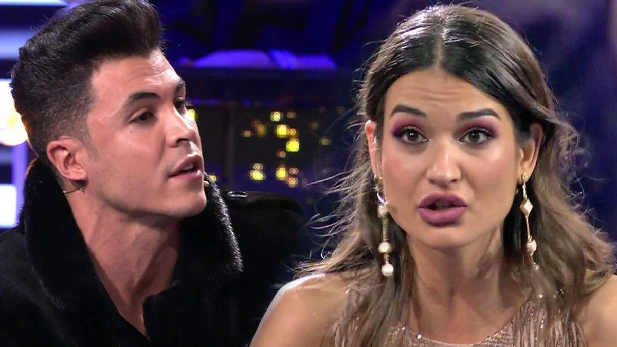 """Estela se enfrenta a Kiko nada más llegar a plató: """"Eres un mierda"""""""
