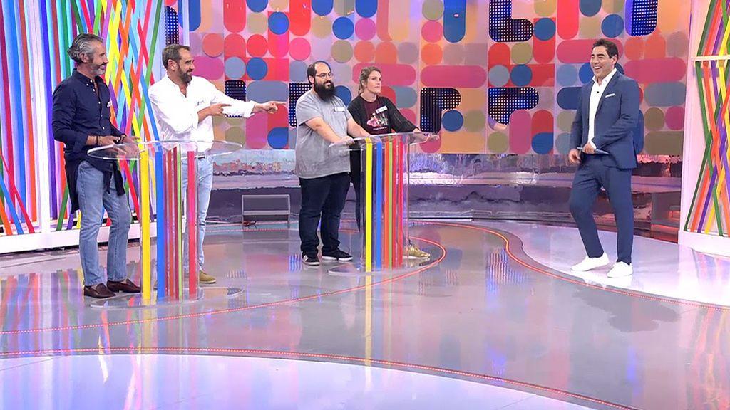 Santi y Aure completan el panel a ritmo de 'Yo quiero bailar'