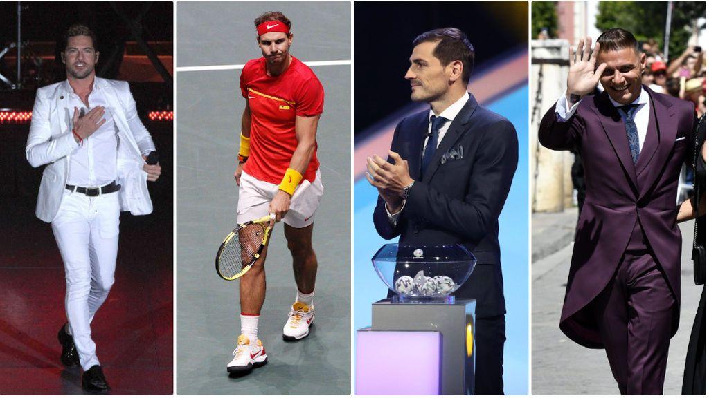 David Bisbal, Iker Casillas, Joaquín y Nadal se unen para mandarle un mensaje a David Villa el día de su despedida