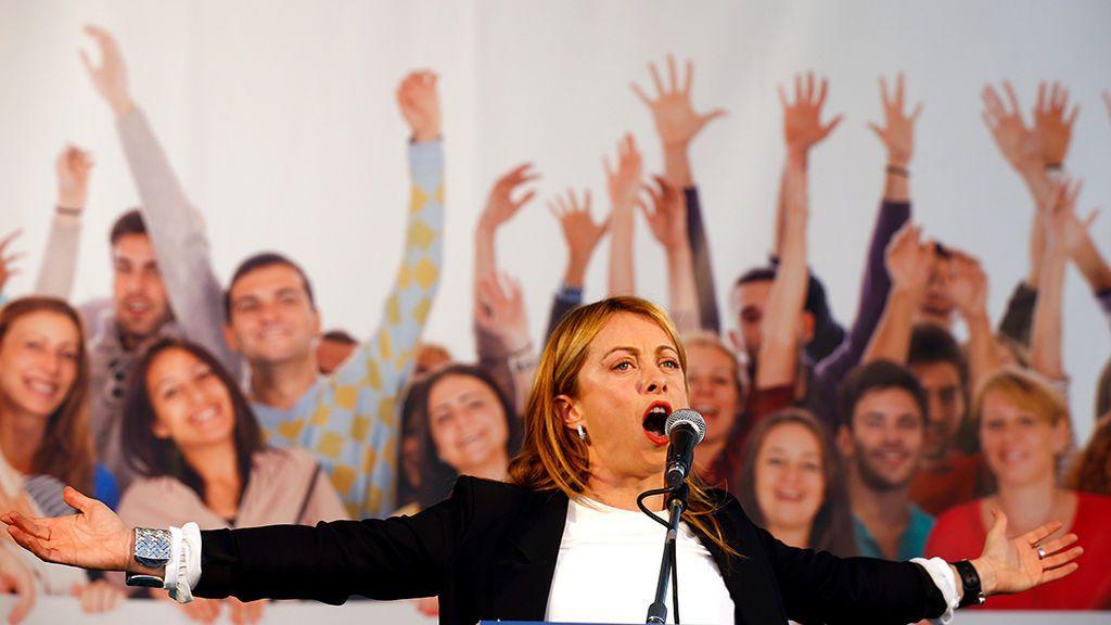 Giorgia Meloni, la aliada soberanista de Salvini y amiga de Abascal