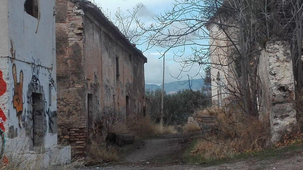 tablate tiene sus muros derruidos