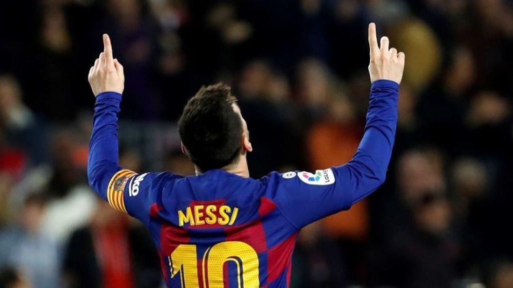 Messi dio una nueva exhibición: un hat-trick para celebrar su sexto Balón de Oro