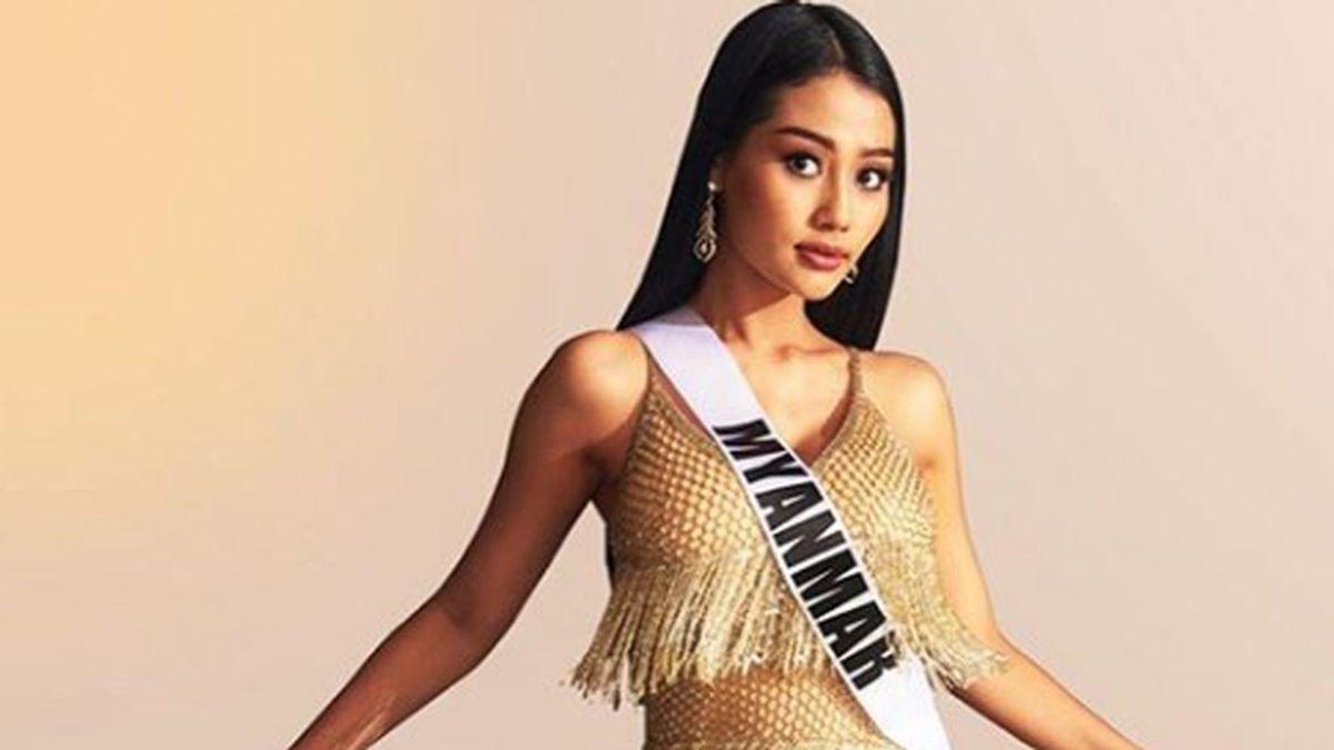 Swe Zin Htet se declara lesbiana en pleno certamen de Miss Mundo: en su país, Birmania, es delito