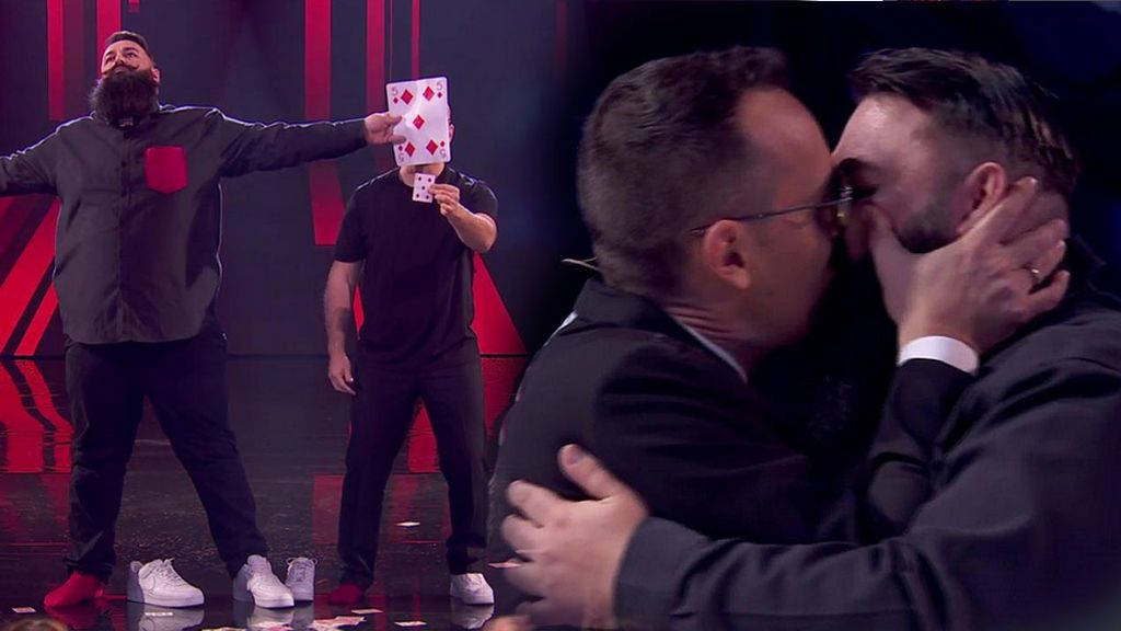 "Risto cae rendido ante la magia de Blake Eduardo y besa apasionadamente a Boris: ""Me he venido arriba"""