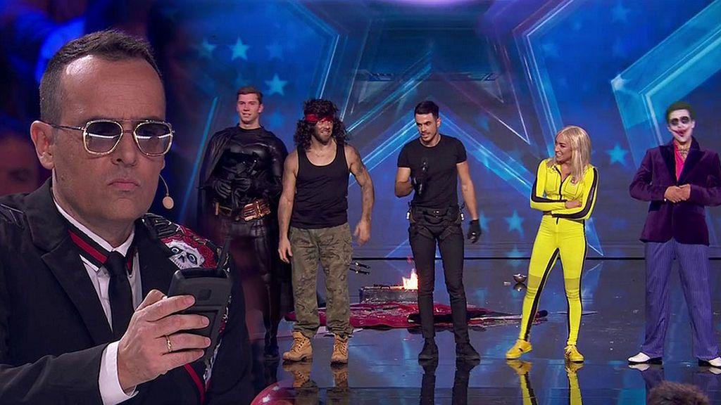 In extremis show team protagonizan una batalla de película en la que Risto tiene el detonador en su poder