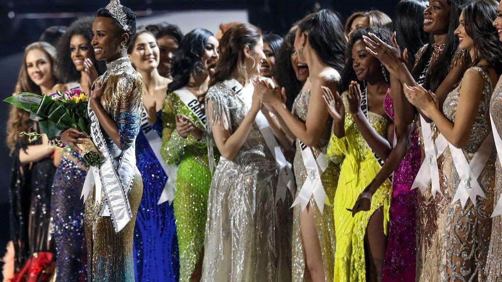 Tuniz, la sudafricana miss Universo