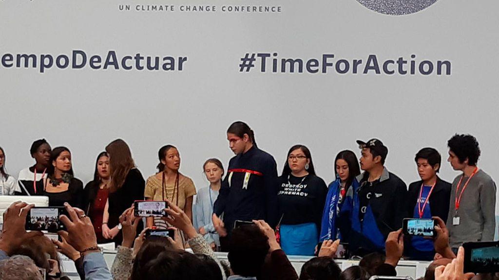 """Hablan los activistas a los que Greta quería escuchar: """"Es un crimen lo que están haciendo aquí con las generaciones futuras"""""""