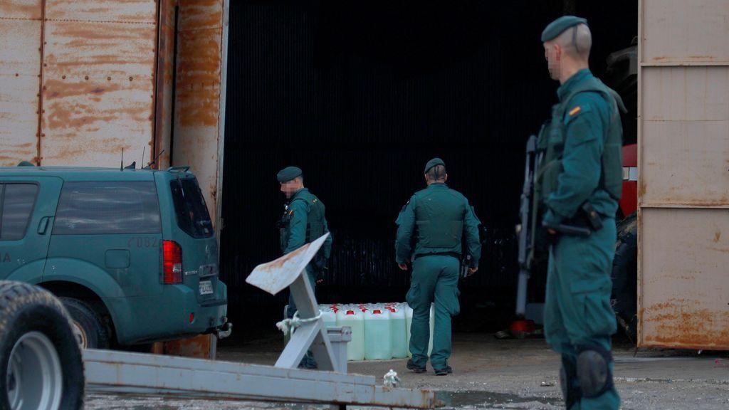 Detenidos 17 miembros de una supuesta red criminal tras intervenir 3.500 kilos de hachís en La Línea (Cádiz)