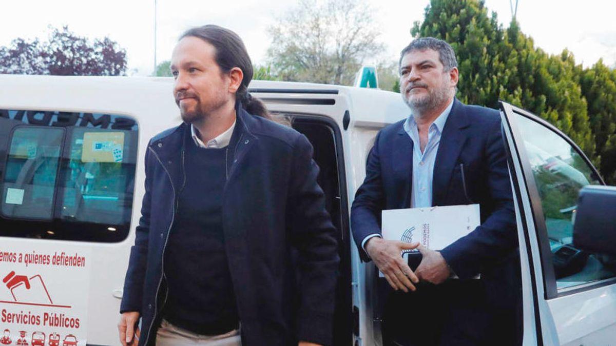Pablo Iglesias y Pablo Gentili