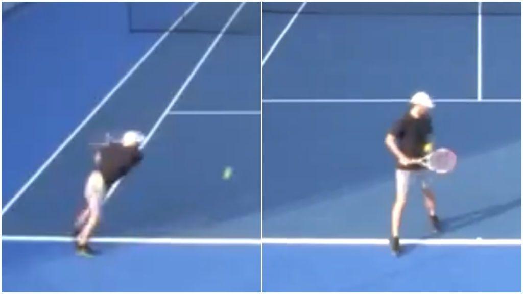 La peor derrota televisada de toda la historia: un 'tenista' pierde todos los puntos en 20 minutos